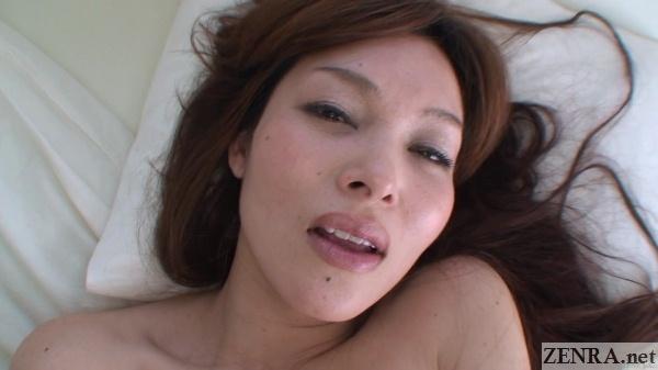 kanou hitomi pleasure face close up