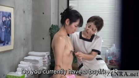 bizarre japanese nipple massage with brush