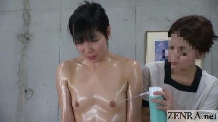 spray used on stiff japanese nipples