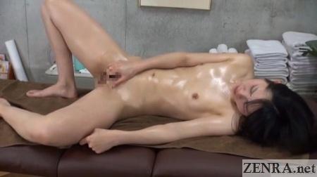 masturbation after lesbian massage
