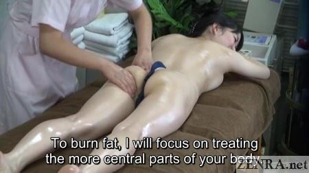 japanese lesbian butt massage