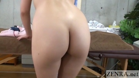 butt of changing japanese student