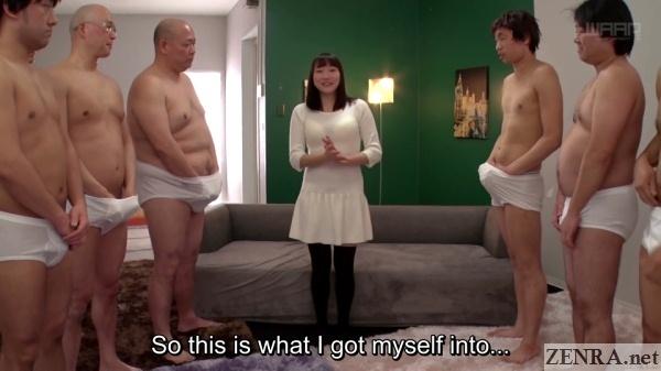 aroused juice men surround ayane suzukawa