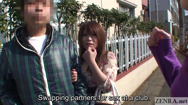 picking up real couples for swingers club