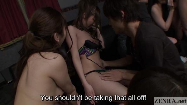 shy amateur swingers club stripping
