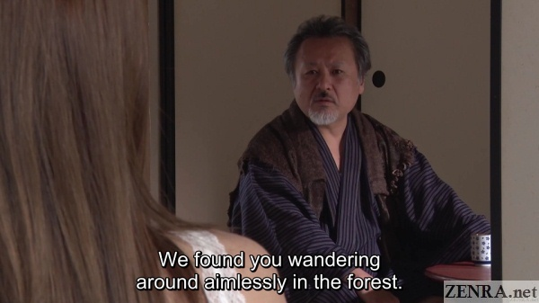 hatano yui encounters village elder