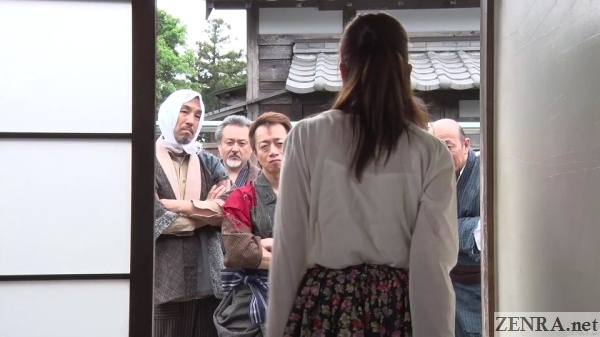 yui hatano confronts angry villagers