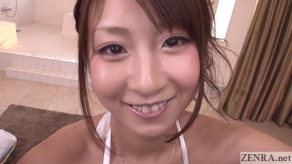 kitagawa hitomi face close up