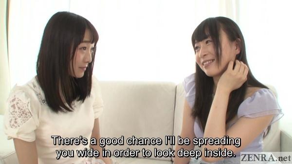 nozomi hazuki teases ayane suzukawa