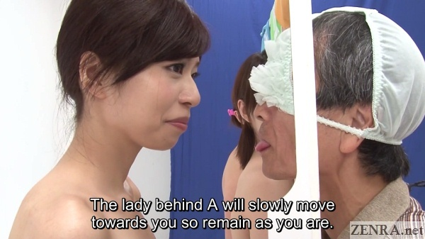 surprised naked jav lady on adult game show