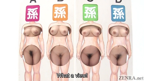 japanese private parts guessing game