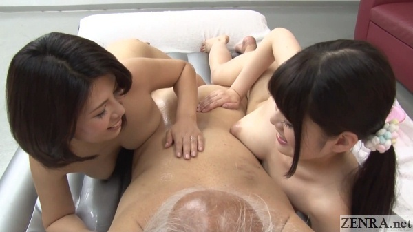 japanese ffm soapland for kimomen