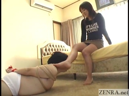 male slave for dominant japanese woman