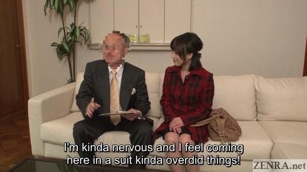 interview before receiving first massage japan