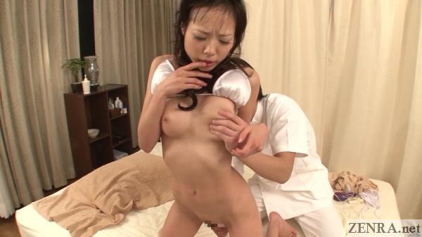 kneeling jav vibrator massage