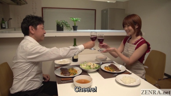 maya kawamura dinner toast