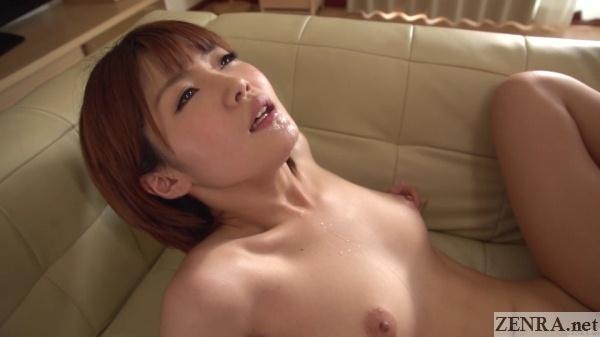 maya akwa mura drool on chin during sex