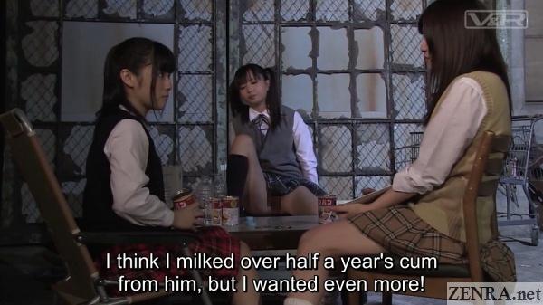 future japanese schoolgirls assemble