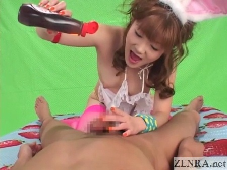 jav pov pouring lotion on dick aihara rio