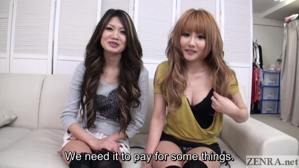 interviewing jav gyaru