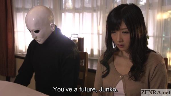scolded hibiki otsuki and masked man