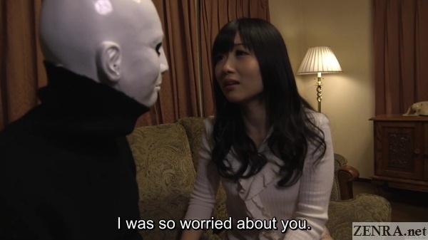 masked man and hibiki otsuki