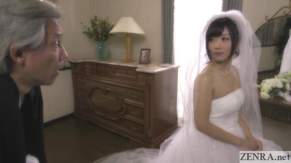 hibiki otsuki in wedding dress