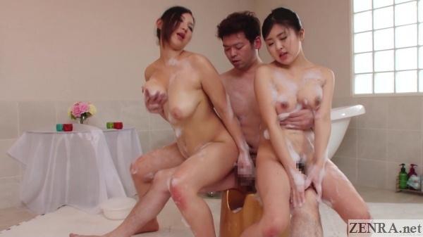 japanese soapland ffm body washing course