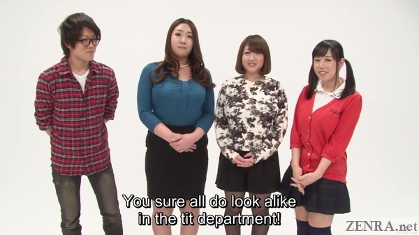interviewing japanese players for guessing game show