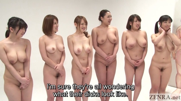 stark naked voluptuous contestants on game show
