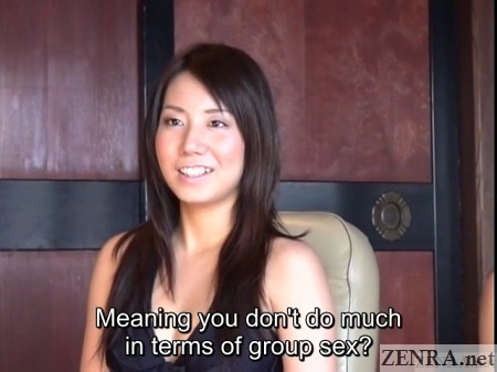 interviewing jav star about group sex