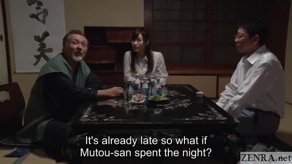 dinner time yuu kawakami husband and coworker