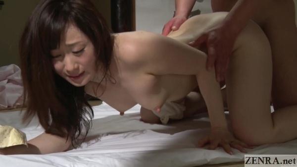 kawakami yuu doggystyle sex