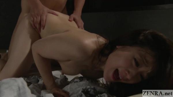 kawakami yuu orgasm from doggystyle sex