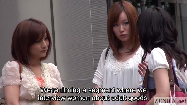 interviewing japanese amateurs in tokyo outside