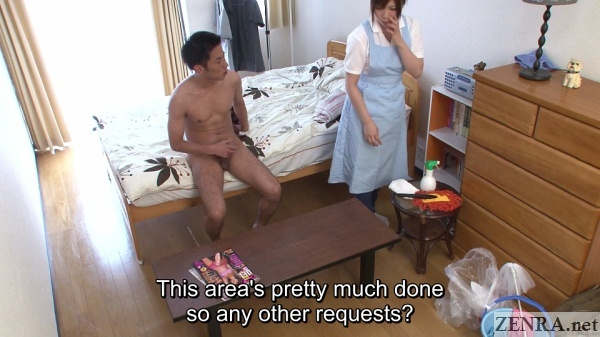 jav cfnm with housekeeper