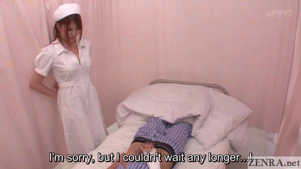 jav nurse momoka nishina discovers masturbating patient