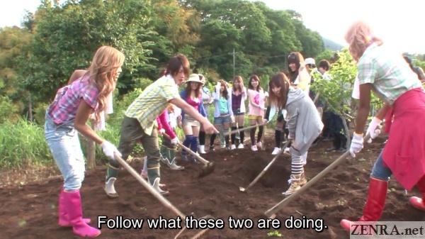 japanese gyaru farming