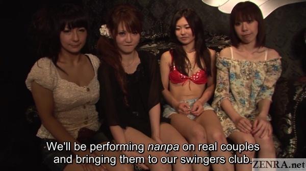 jav stars gather at swingers club