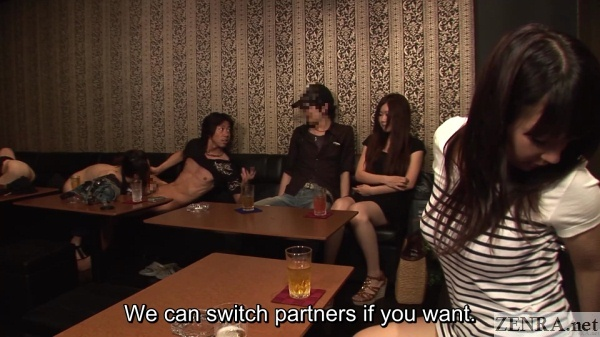 couple swapping jav swingers club