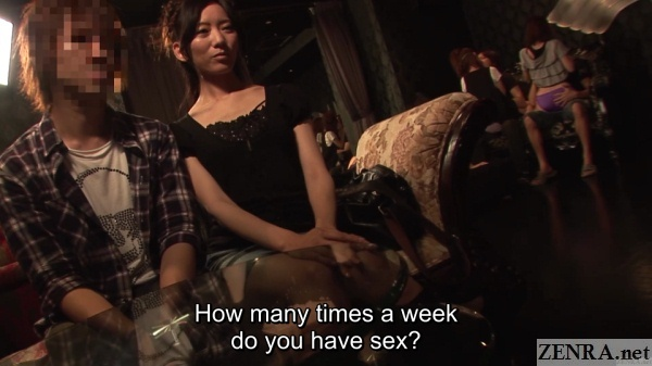 new jav couple at swingers club interview