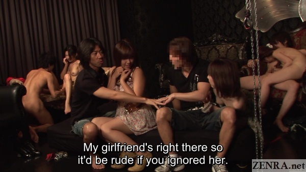 swapping couples at jav swingers club