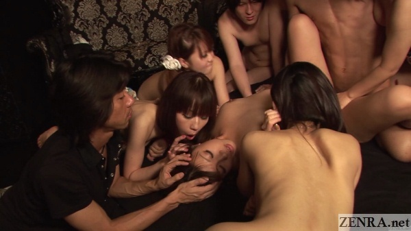amateur woman harem sex at swapping club